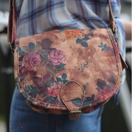 Isabelle Saddle Bag Floral N14 Small