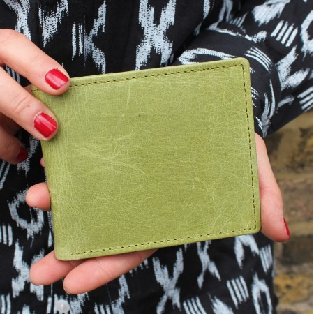 Alberta Trifold Wallet Applegreen