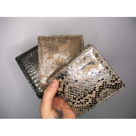 Alberta Wallet Leopard Print Leather