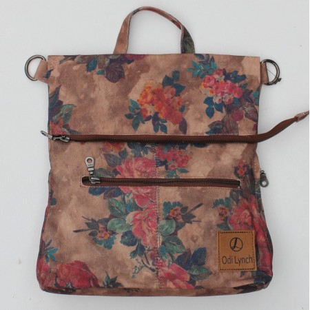 Amelie Backpack Floral Vegan