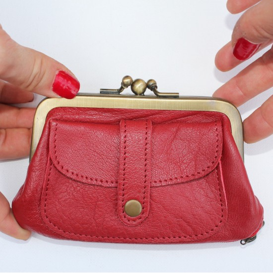 Amy purse - Red