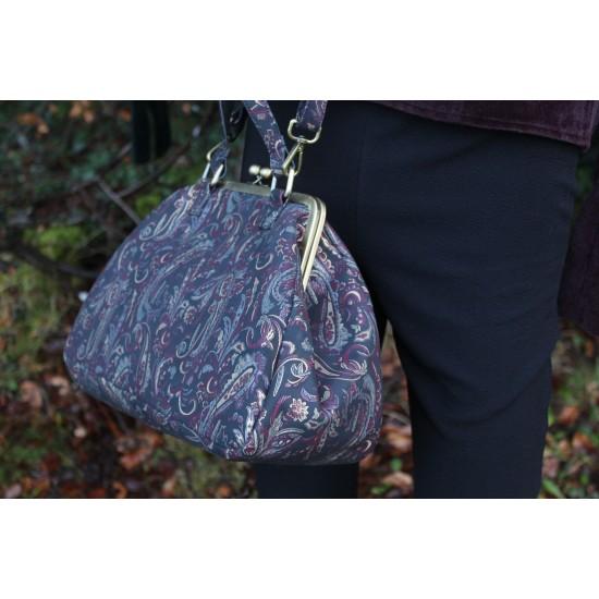 Boheme Paisley Large Claspframe Handbag