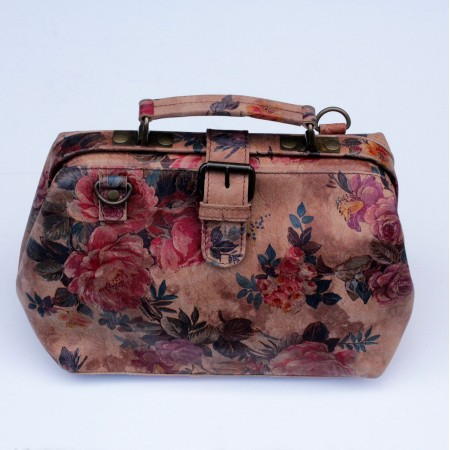 Doctor Bag Small Summer Floral