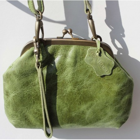 Evanna Clip And Clutch Bag Apple