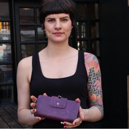 Evanna Large Clip Wallet
