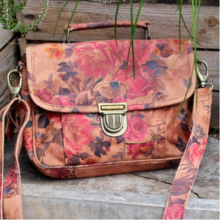 Funky Bag Satchel Floralprint