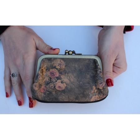 Amy purse - grey