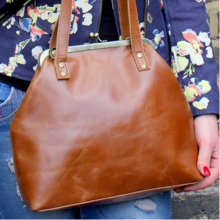 Maya Medium Tan Smooth Leather