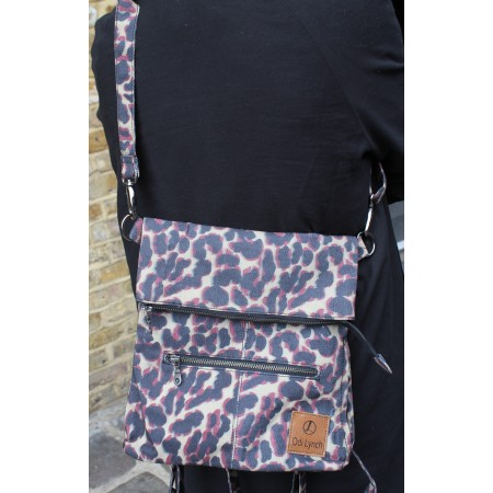 Amelie Backpack Leopard Print Vegan