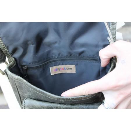 Saddle Bag Charcaol Small