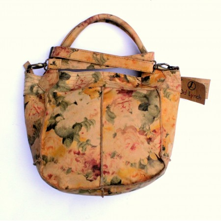 Bach Small Tote Floral Leather