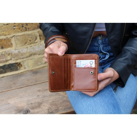 Francesca Small Tan Wallet
