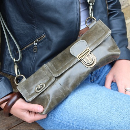 Bumbag Charcoal Leather