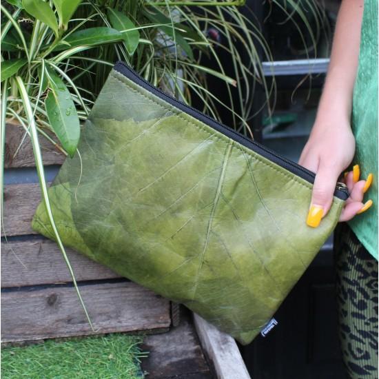 Teakleaf Vegan Laptop Cover Apple Green