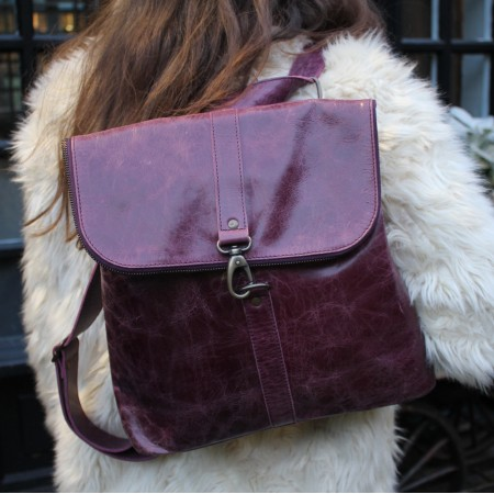 Frankfurt Backpack Purple