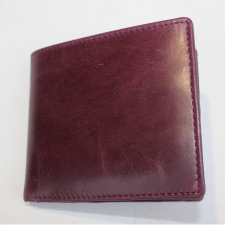 Alberta Purple Leather Wallet Leather