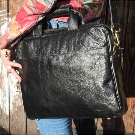 Laptop Bag Black Berlin