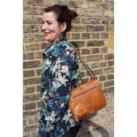 Louisa Tan Smooth Messenger Bag
