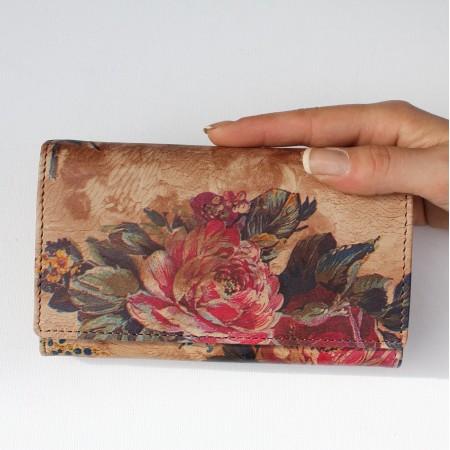 Madamzel Floral 14 Leather Wallet