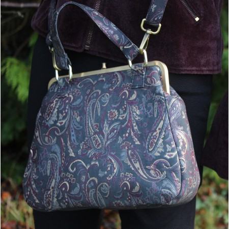 Boheme Medium Paisley Clipframe Purse