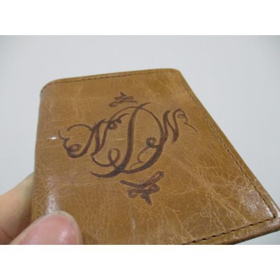 Embossed Card holder