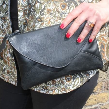 Sligo Clutch Bag Black