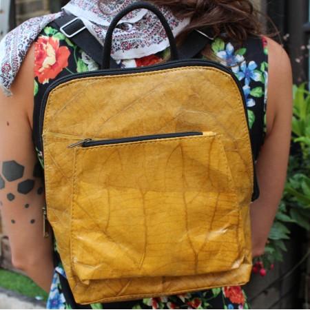 Teakleaf Vegan Backpack