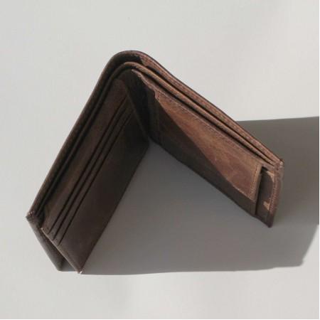 Men's Wallet Brown Leather