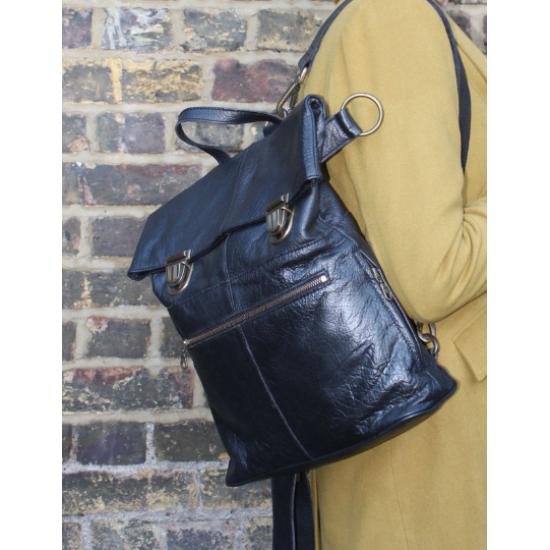 Belgian Black Backpack