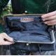Doris Shoulder Bag Clipframe Black Leather