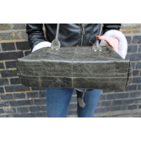Doris Shoulder Bag Clipframe Charcoal