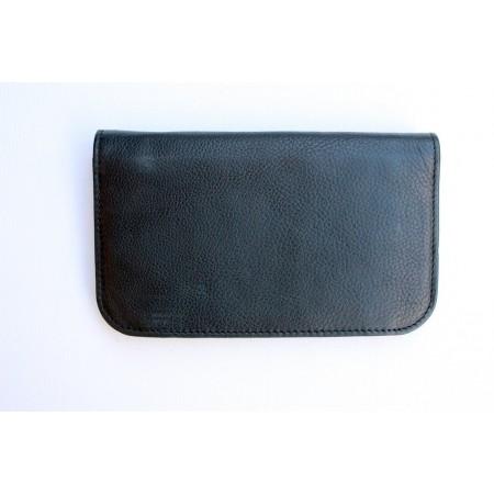 German Black Wallet Soft Leather