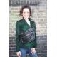 Giant Bum Bag Black Leather