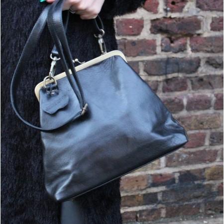Maya Medium Kissclip Crossbody Handbag