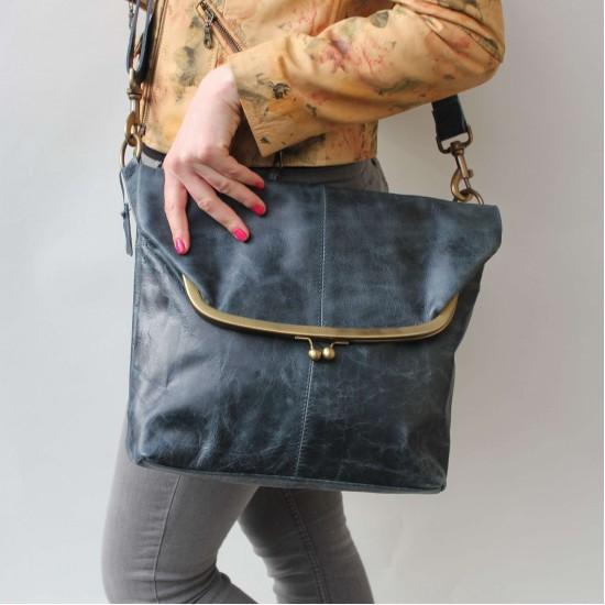 Large Foldover Framed Bag