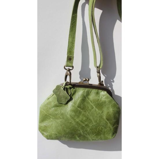 Evanna Clip And Clutch Bag Apple