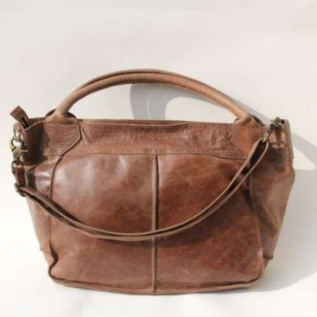 Bach Medium Tote Light Brown Leather