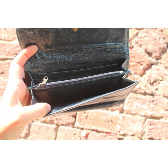 Large Travel Wallet Navy