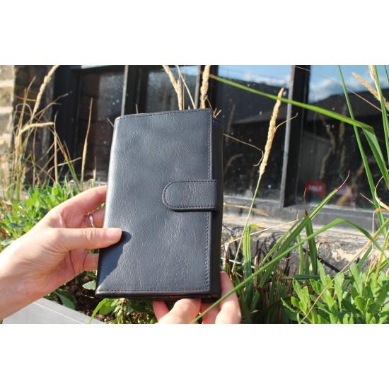 Large Travel Wallet Black
