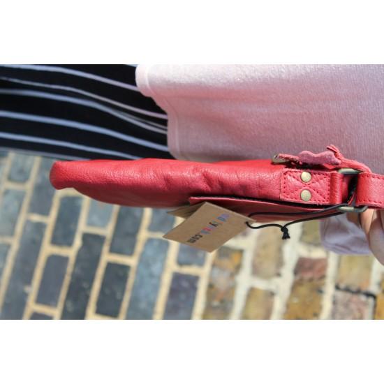 Mini Envelope Red Twister Lock