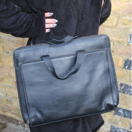 Tony Laptop Bag Black for 18 inch laptop